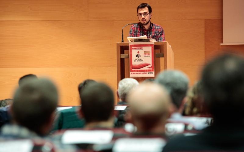 Rodrigo Alfaro, reelegido secretario general CCOO de Industria de La Rioja
