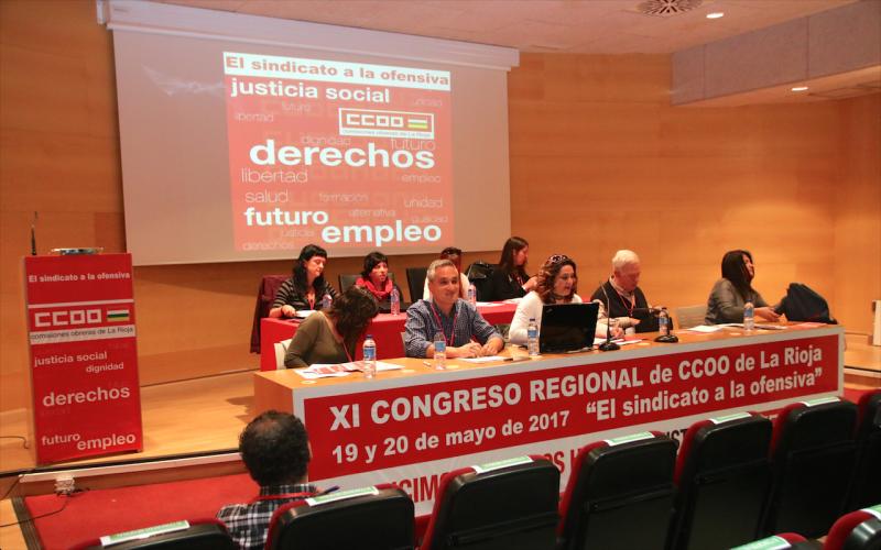CCOO afronta su XI Congreso Regional reforzado para recuperar los derechos arrebatados durante la crisis