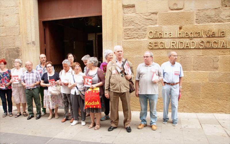 CCOO exige medidas para defender el sistema de pensiones