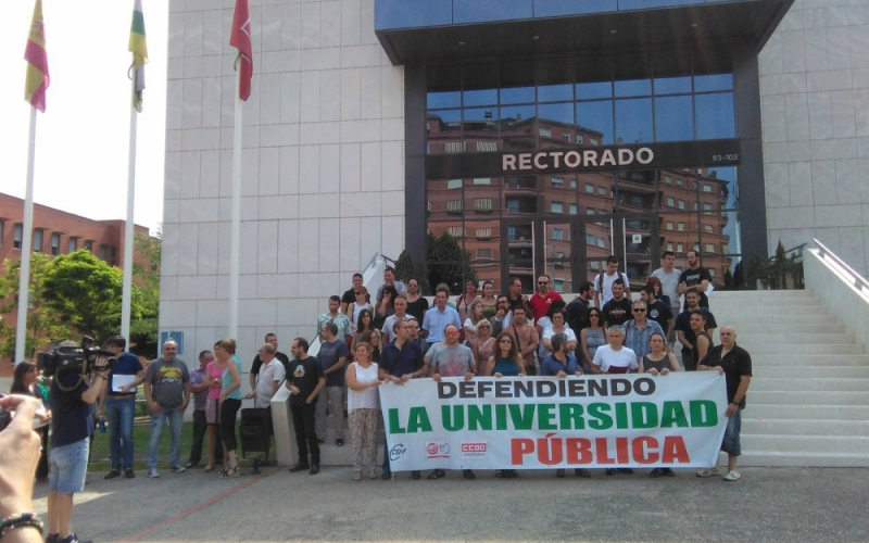 CCOO gana las elecciones sindicales en la Universidad de La Rioja