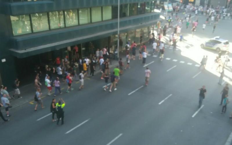 CCOO condena los antentados de Barcelona y Cambrils