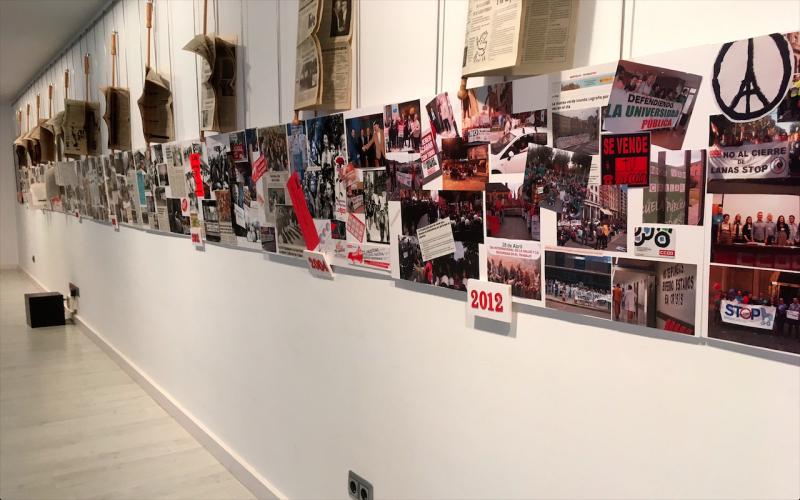 40 años de lucha obrera, en Haro