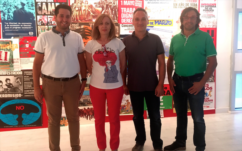 La exposición del 40 aniversario del sindicato llega a Arnedo