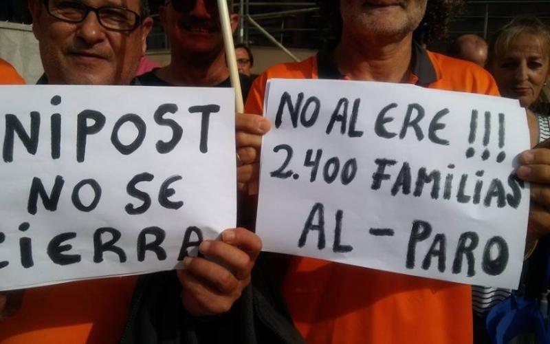 CCOO exige al Gobierno implicación para evitar el cierre de Unipost con 2.400 despidos directos y casi 2.000 indirectos, 60 en La Rioja