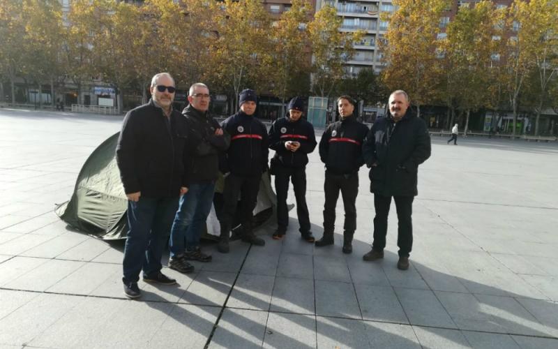 Contra el uso abusivo de las guardias forzadas de los bomberos de Logroño