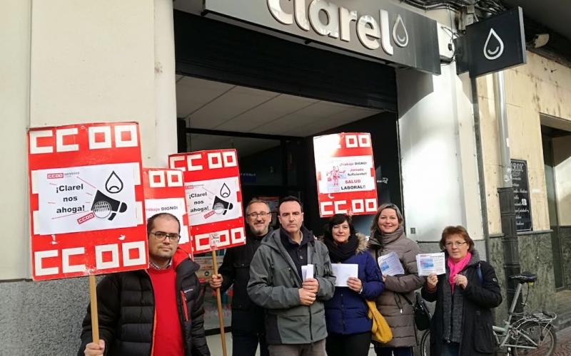 CCOO- SERVICIOS reclama una revisión de las condiciones de trabajo en CLAREL – La Rioja