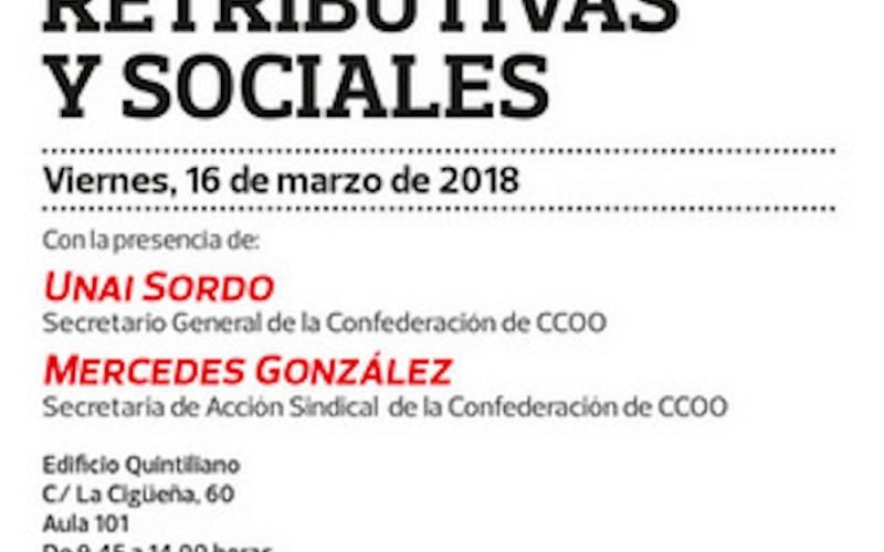 Unai Sordo, este viernes en una Jornada sobre Negociación Colectiva en la UR