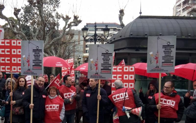 Comisiones Obreras arrasa en Serunion