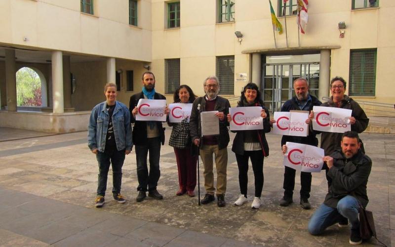 Logroño Cívico denuncia Ruiz Tutor por incumplir la ordenanza cívica