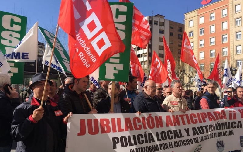 """""""Exigimos al Gobierno que cumpla su palabra con los policías locales y autonómicos"""""""