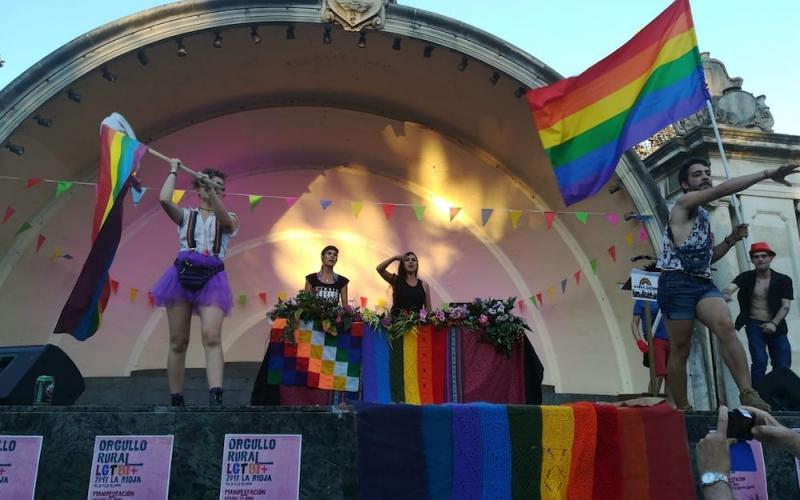 El #OrgulloRural invade Logroño