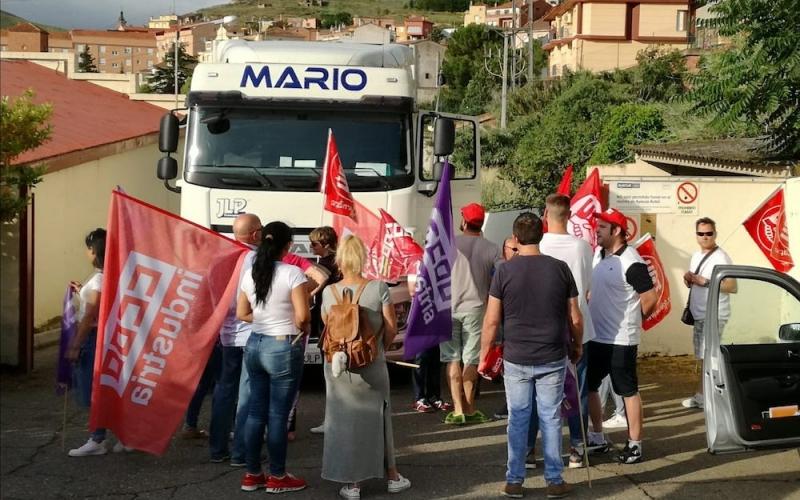 Un 80% de los trabajadores de Conservas Vegetales secundan la huelga