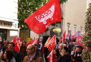 Manifestación 1 de mayo de Logroño.