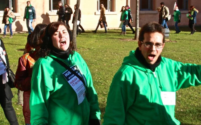 Huelga contra la reválida franquista