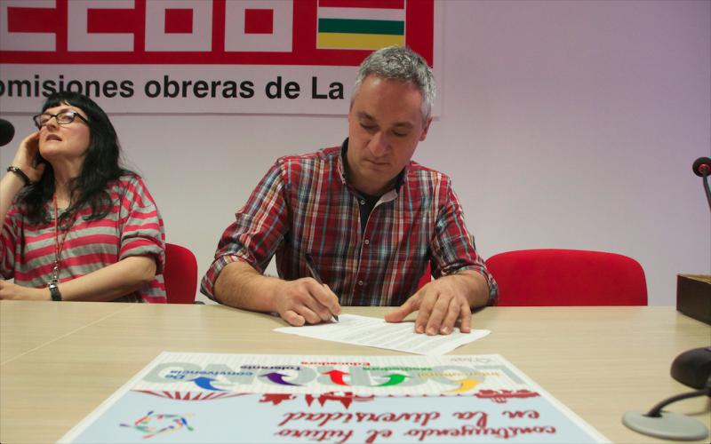 CCOO de La Rioja mantiene su asesoramiento sindical y laboral por todos los medios menos el presencial