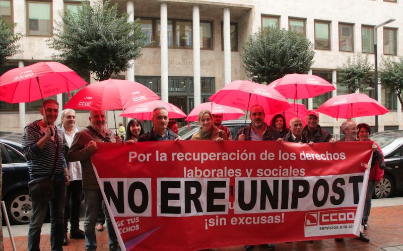 La primera fase del ERE de Unipost se llevará por delante 9 puestos de trabajo en La Rioja