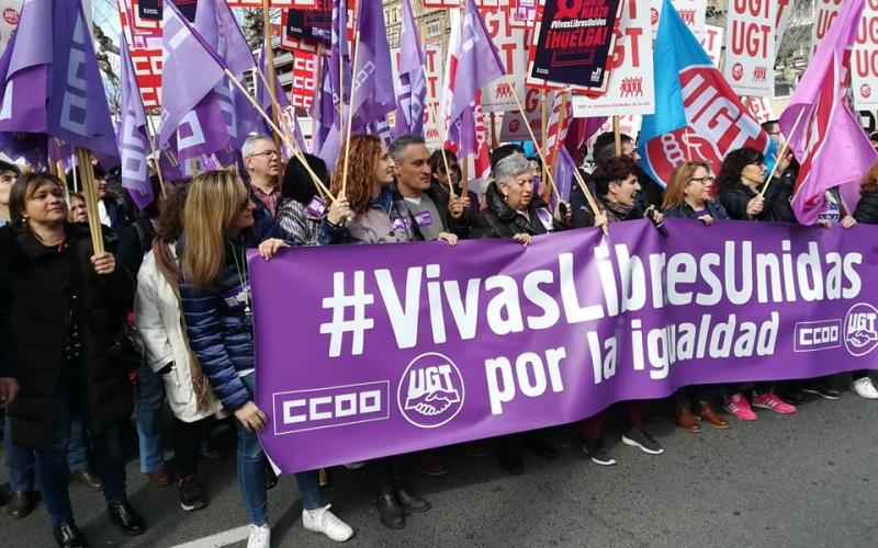 #VivasLibresUnidas por la igualdad