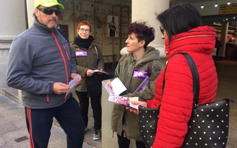 CCOO sale a la calle para animar a la huelga