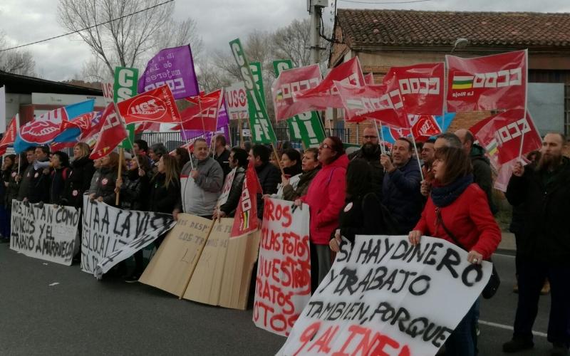 Contra los despidos y la deslocalización en Talleres  Lispar
