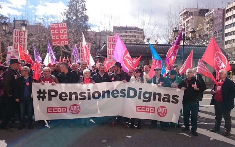 Es urgente revertir los recortes iniciados en 2012 para disfrutar de unas pensiones dignas