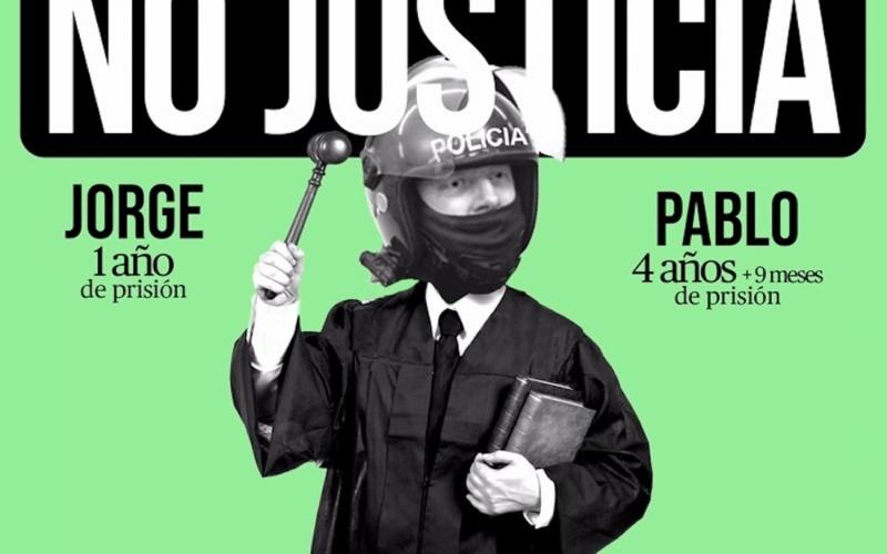 Injusta y desproporcionada, la sentencia del No Caso del 14-N