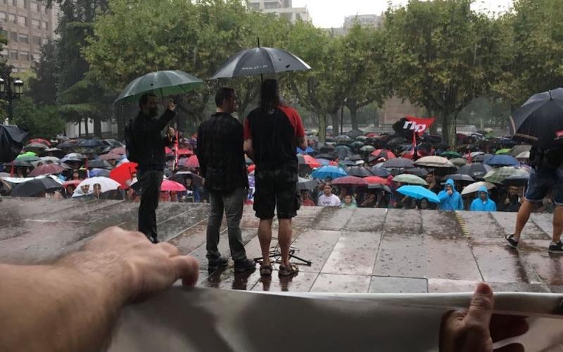 La lluvia no nos frena: ¡Jorge y Pablo absolución!