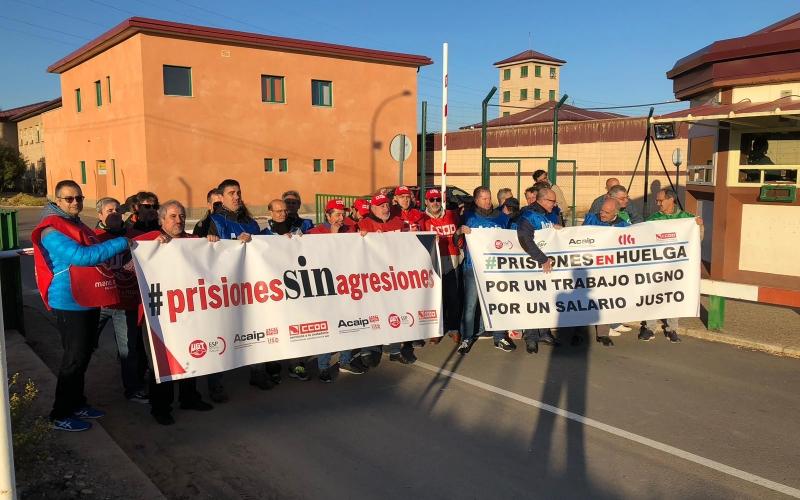 Seguimos sin conocer los planes del Gobierno para los empleados de prisiones