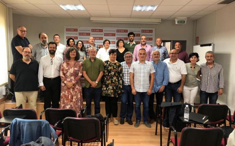 CCOO reclamará financiación en Bruselas para el corredor Cantábrico-Mediterráneo