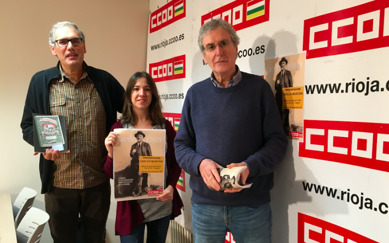 CCOO Enseñanza Rioja y Piedra de Rayo homenajean a Cossío y sus misiones pedagógicas
