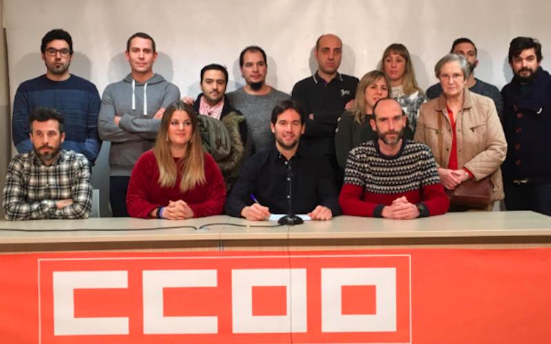 Los trabajadores de Fundación Diagrama de La Rioja han dejado de percibir en los últimos ocho años una media de 2.000 euros