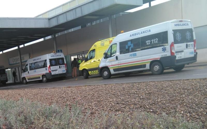 Saturadas las Urgencias del Hospital San Pedro de Logroño