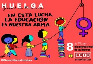 HUELGA GENERAL EN LA EDUCACIÓN 8M
