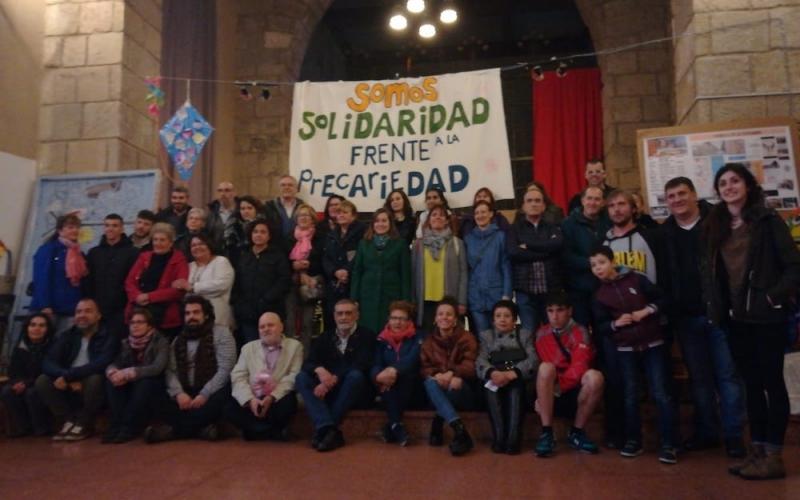 Somos solidaridad frente a la precariedad