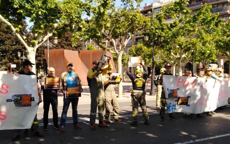 Los Bomberos Forestales reclaman respuestas ante su preocupante situación laboral