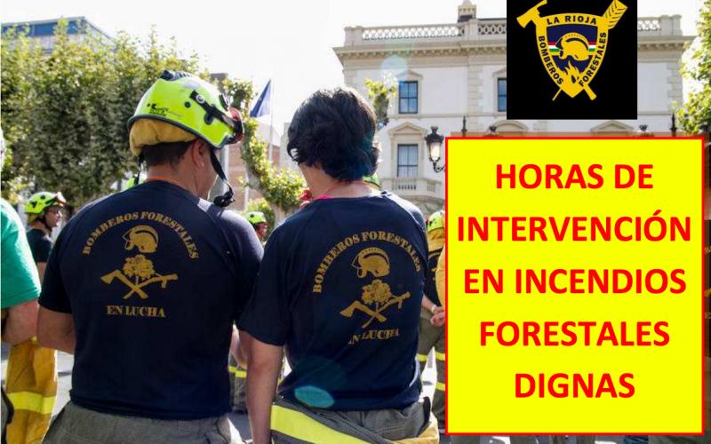 Los Bomberos Forestales continúan las movilizaciones por una mejora del servicio