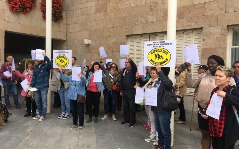 Gamarra sigue sin cumplir sus compromisos con las personas refugiadas