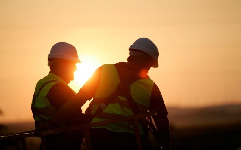 La cifra de accidentes de trabajo con baja en el sector de la construcción se dispara