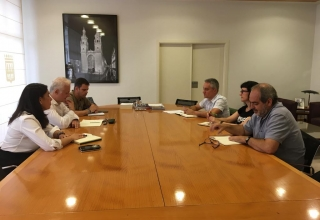 Reunión alcalde-CCOO (1-8-19)