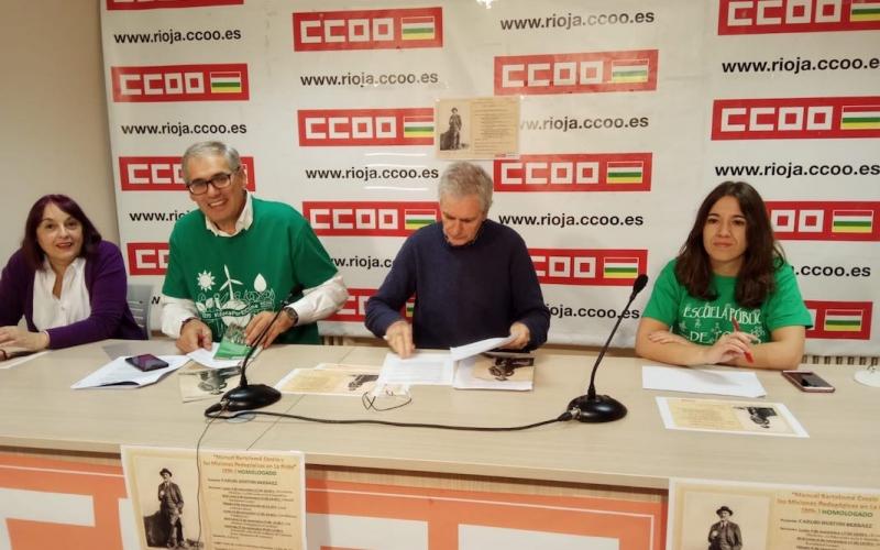El instituto de Haro debe recuperar el nombre de Manuel Bartolomé Cossío