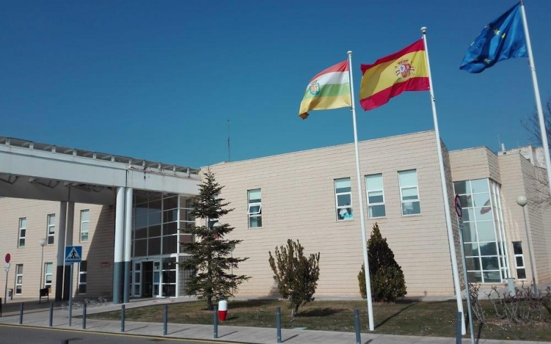 La Fundación Hospital de Calahorra se ha adaptado a la situación provocada por el coronavirus con ejemplar eficacia
