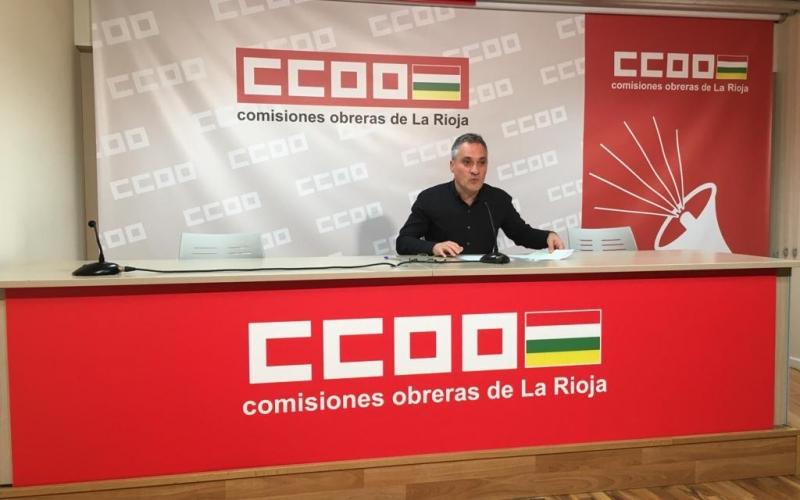 CCOO La Rioja reclama definir los ámbitos y materias a abordar con el Gobierno de La Rioja en el Diálogo Social