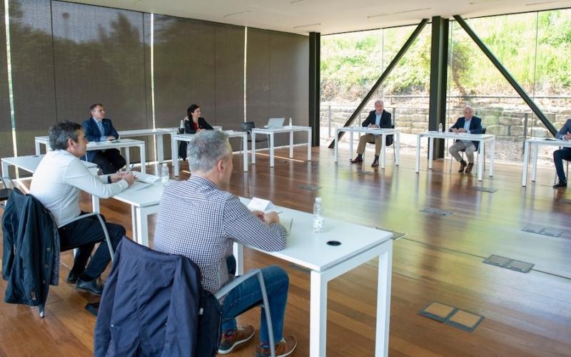 Acuerdo para garantizar un retorno seguro a la actividad económica en La Rioja
