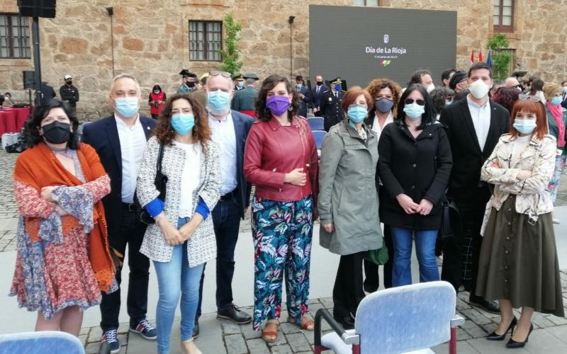 Las personas trabajadoras, la fuerza del trabajo, se reconoce en la celebración del Día de La Rioja