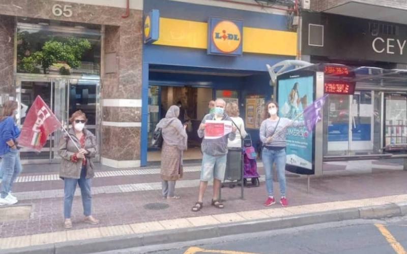 Huelga CCOO en LIDL