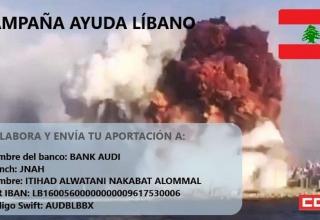 libano, fondos, apoyo