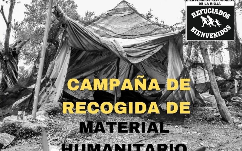 Campaña de recogida en La Rioja de material humanitario con destino a los refugiados en Grecia y la ruta de los Balcanes