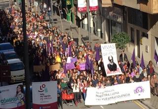8 de marzo, manifestación violencia de género