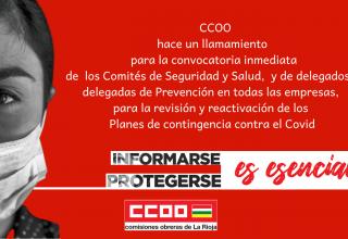 LLAMAMIENTO COMITÉS SEGURIDAD Y SALUD