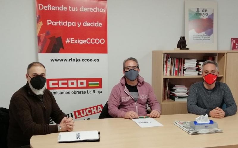 AUGC informa a CCOO en La Rioja sobre la involución en derechos de los guardias civiles