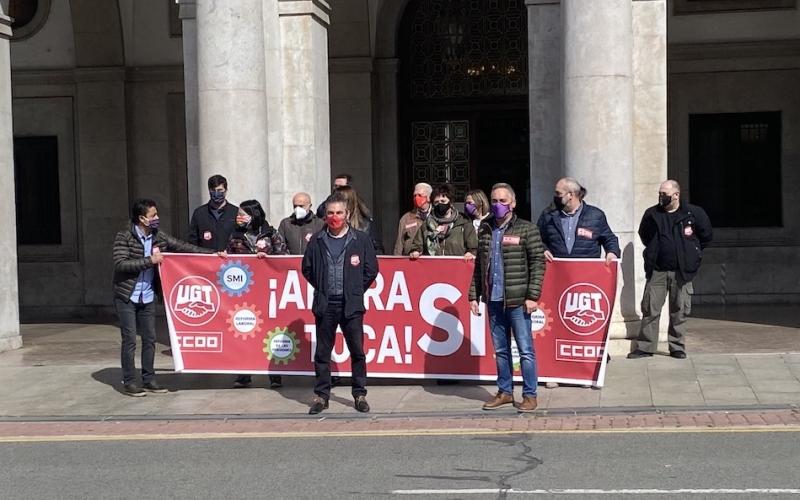 Seguimos en la calle recordando que #AhoraSíToca recuperar derechos